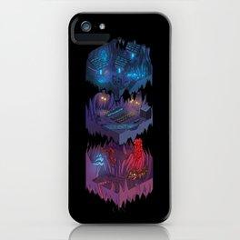 Isometric Coelary - 2 iPhone Case