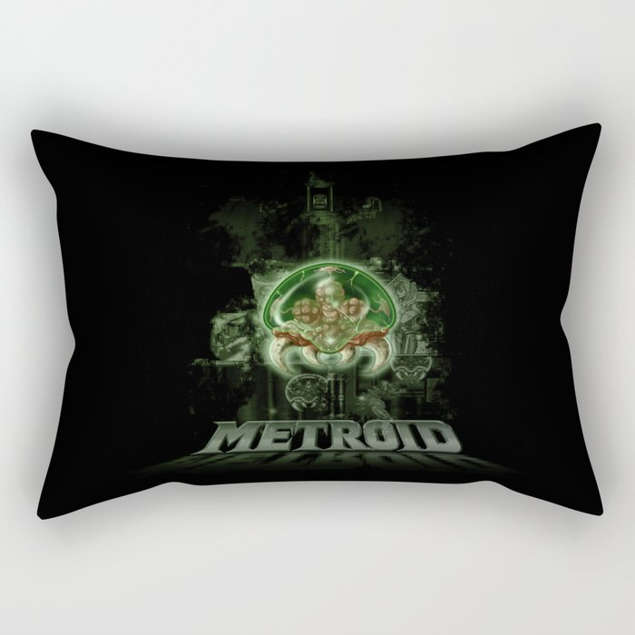 The Last Metroid Rectangular Pillow