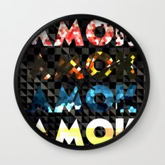 Atoms for Peace: AMOK Wall Clock