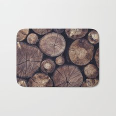 The Wood Holds Many Spirits // You Can Ask Them Now Edit Bath Mat