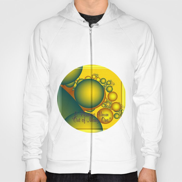 e pluribus unum   out of many - one Hoody