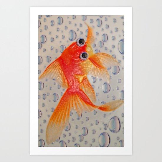 Fish Outta Water Art Print