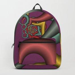 nice colors on violet -1- Backpack