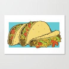 Tacos Canvas Print