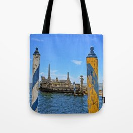 Vizcaya Barge Adventures Tote Bag