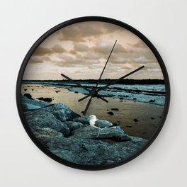 Barnegat Light 3 (seagull) Wall Clock