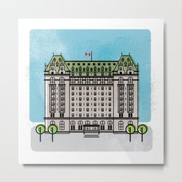 Hotel Fort Garry, Winnipeg Metal Print