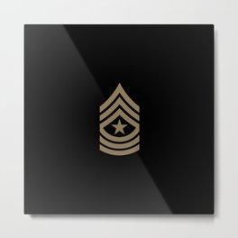 Sergeant Major (Brown) Metal Print