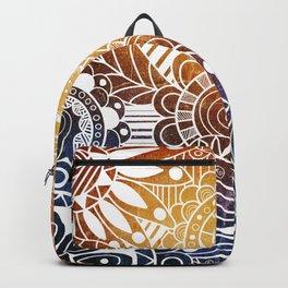 Sunset Doodle Backpack