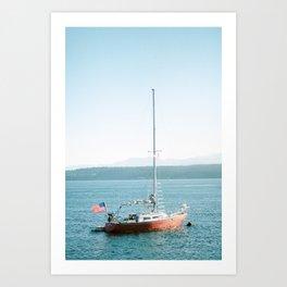 American Maritime Art Print