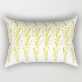 Eternity in Gold Leaf II Rectangular Pillow