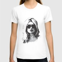 kate moss T-shirts featuring Kate Moss by Joanna Theresa Heart