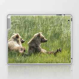 Unbearably Cute - Bear Cubs, No. 5 Laptop & iPad Skin