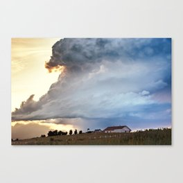 Shadow of Uncertainty Canvas Print