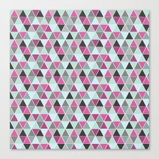 Triangulation Canvas Print