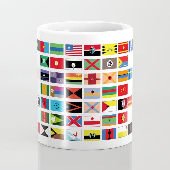 SH as flags Coffee Mug