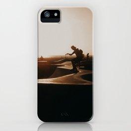 Venice beach skateboarder iPhone Case