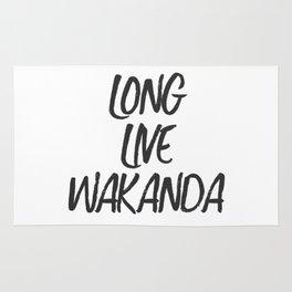Long Live Wakanda Rug