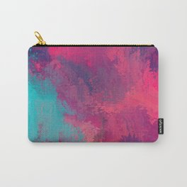 """""""And STILL I Persevere Through The Storms"""" Abstract Design Carry-All Pouch"""
