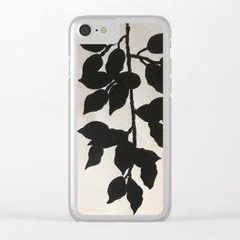Black Vines Clear iPhone Case