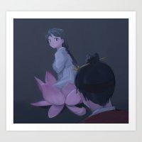[Simcheong] 2 Art Print