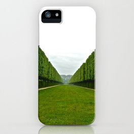 Between The Hedges iPhone Case