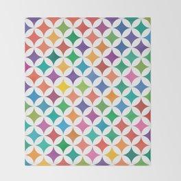 Stars - Rainbow #795 Throw Blanket