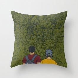 On Sunday Throw Pillow
