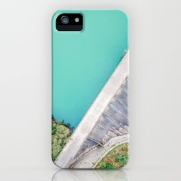Dam of Reservoir iPhone Case