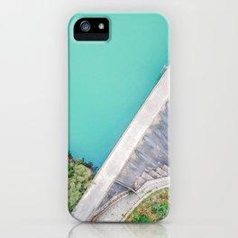 Dam of Reservoir iPhone Case