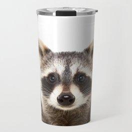 Rock Raccoon Travel Mug