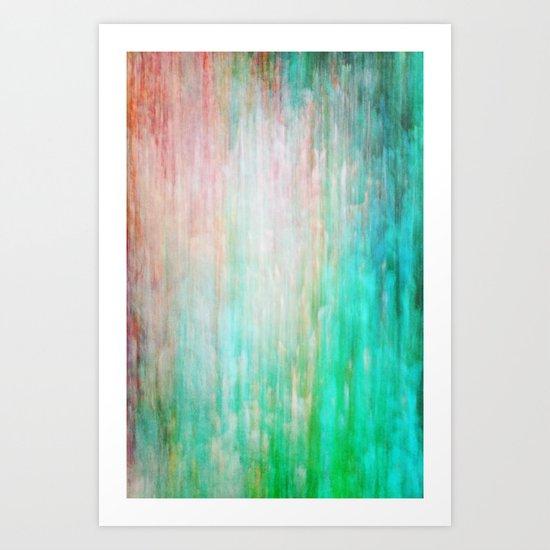 color wash Art Print