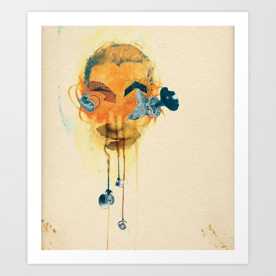 Mingadigm | Hear Me Art Print