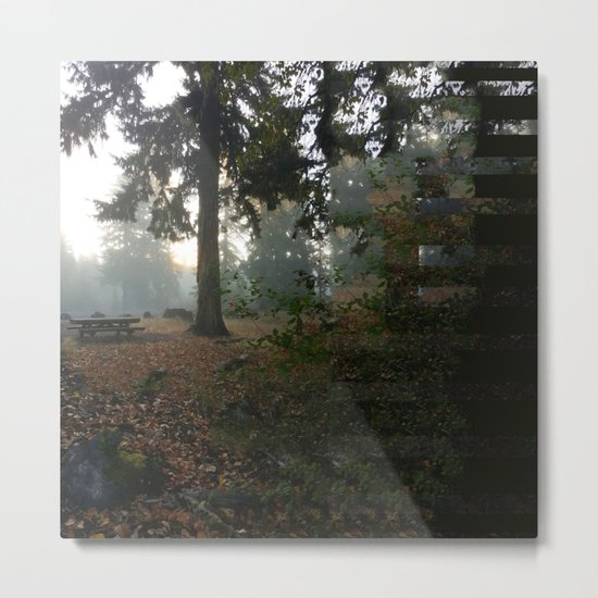 Divided In Fall (There Are No Picnics Here) Metal Print
