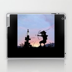 Green Arrow Kid Laptop & iPad Skin