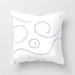 Celestial Stitches II Throw Pillow