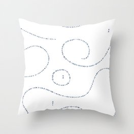Celestial Stitches II Throw Pillow