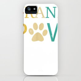 Grand Paw Unisex T-shirt gift for mens womens iPhone Case