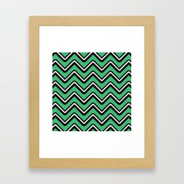 Let's go up Framed Art Print