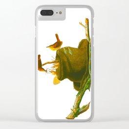 House Wren Bird Clear iPhone Case