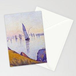 Paul Signac Evening Calm, Concarneau, Opus 220 Stationery Cards