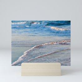 Sandy Blues Mini Art Print