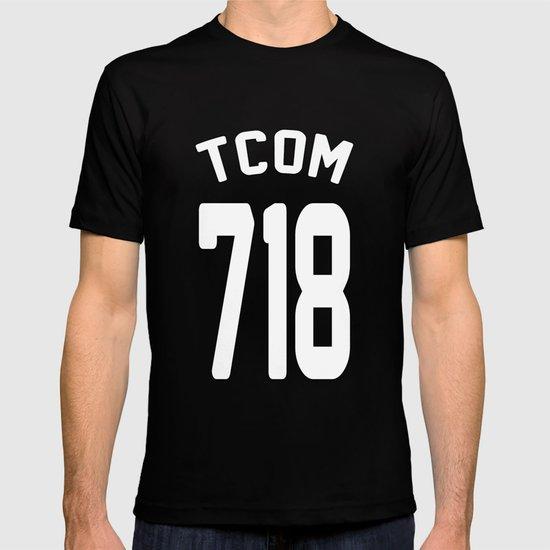 TCOM 718 AREA CODE JERSEY T-shirt