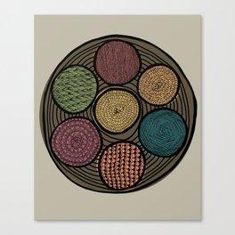 Spice Tin Canvas Print