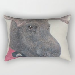 Canadian Moose Rectangular Pillow