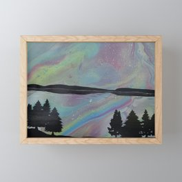 Northern Nights Framed Mini Art Print