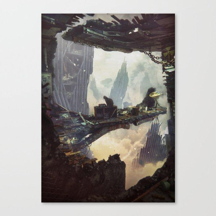 00:10 AM Canvas Print