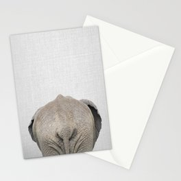 Elephant Tail - Colorful Stationery Cards