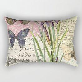 Lilium Wild Flower Rectangular Pillow