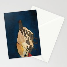 Finch on Blue Stationery Cards